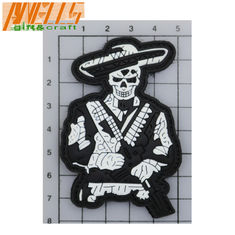 Hook / Loop Backing 3D Rubber Tactical Pvc Patch