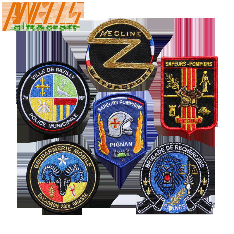 Velcro Backing Tactical Military Patch Embroidered Applique